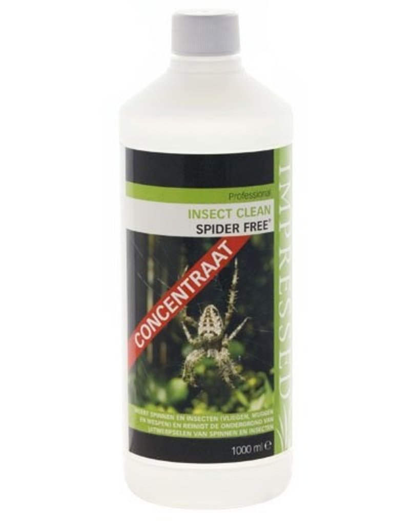 IMPRESSED Insect Clean Spider Free 1 Liter (concentraat)