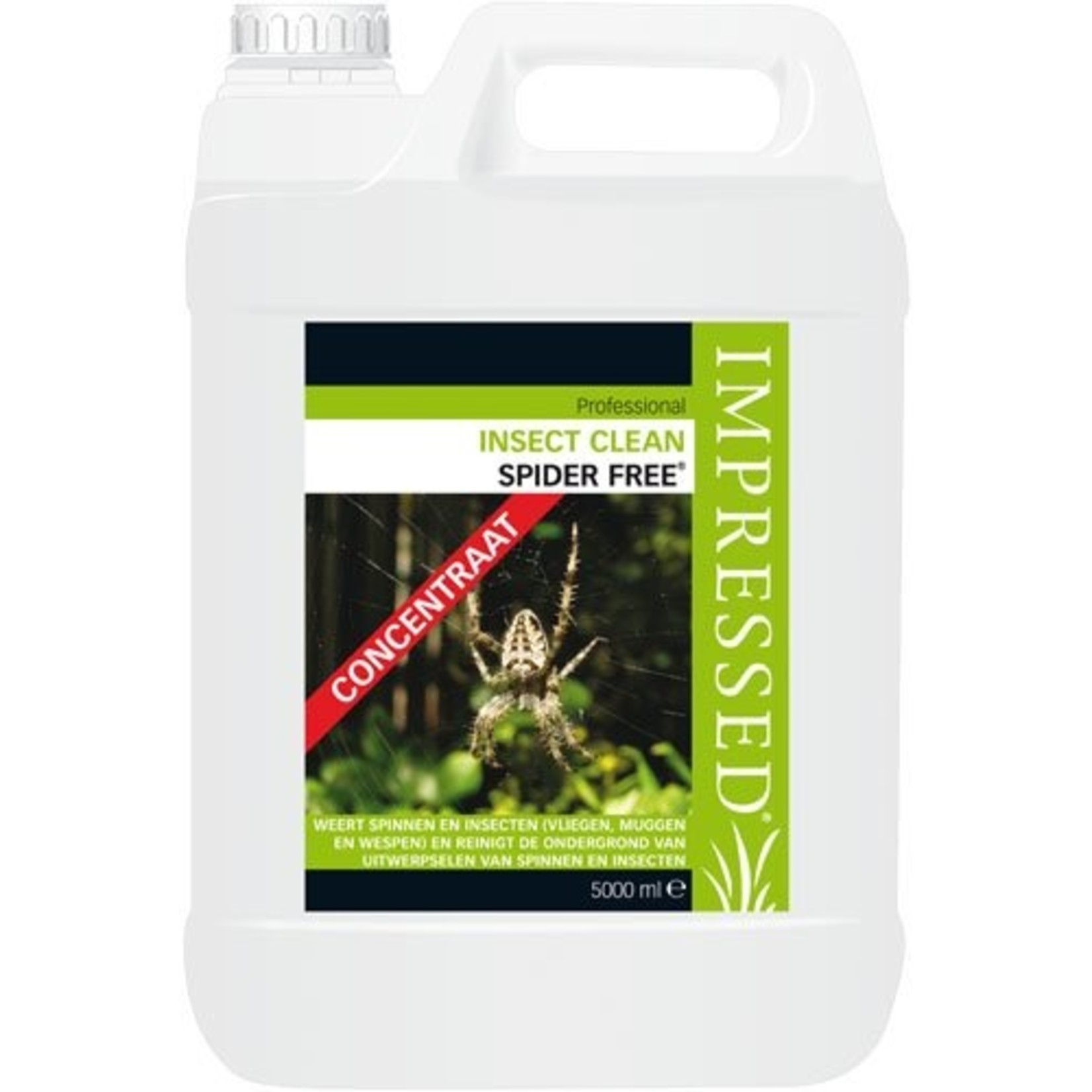 IMPRESSED Insect Clean Spider Free / Web Free 5 Liter (concentraat)