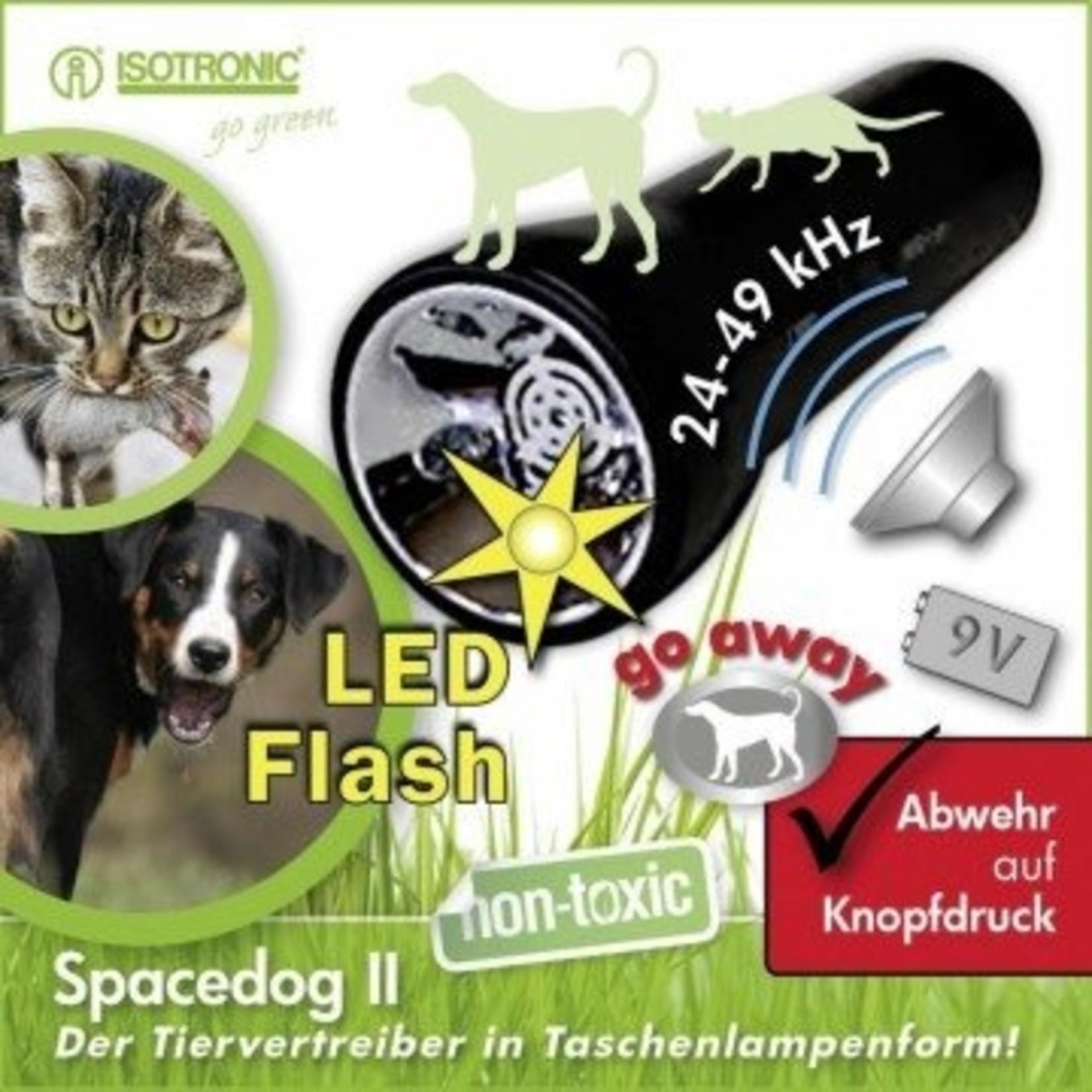 Isotronic Honden- en kattenverjager Space Dog II op batterijen