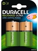 Duracell Batterijen oplaadbaar type D (2 stuks)