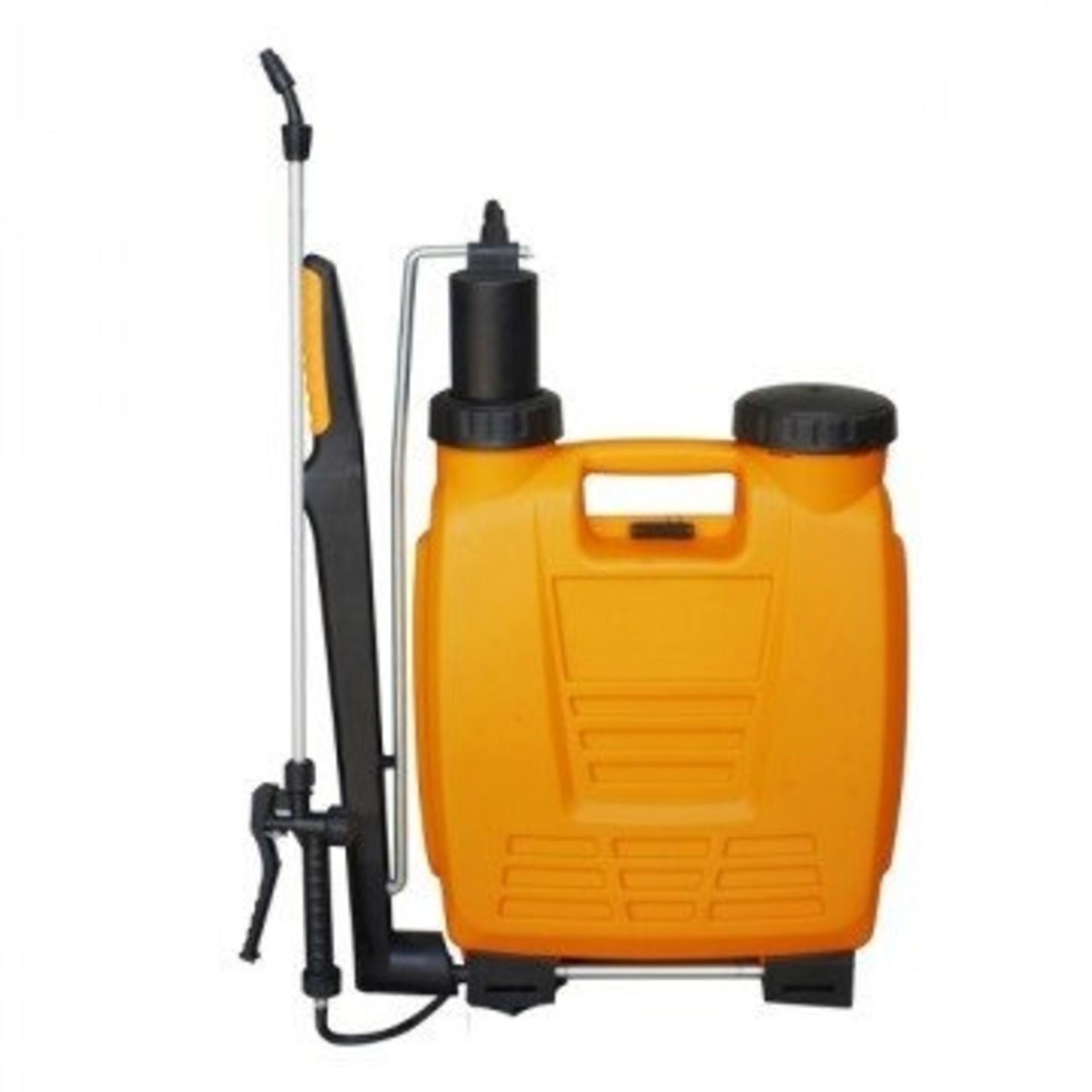 Dario Rugspuit  Oranje 12 liter