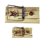 Kerbl Rattenval hout