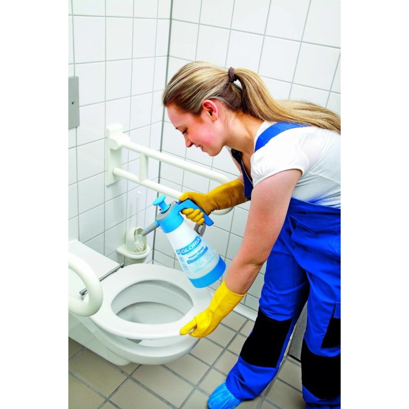 Gloria Reiniging CleanMaster CM12 Zuurbestendige Drukspuit (1¼ liter)