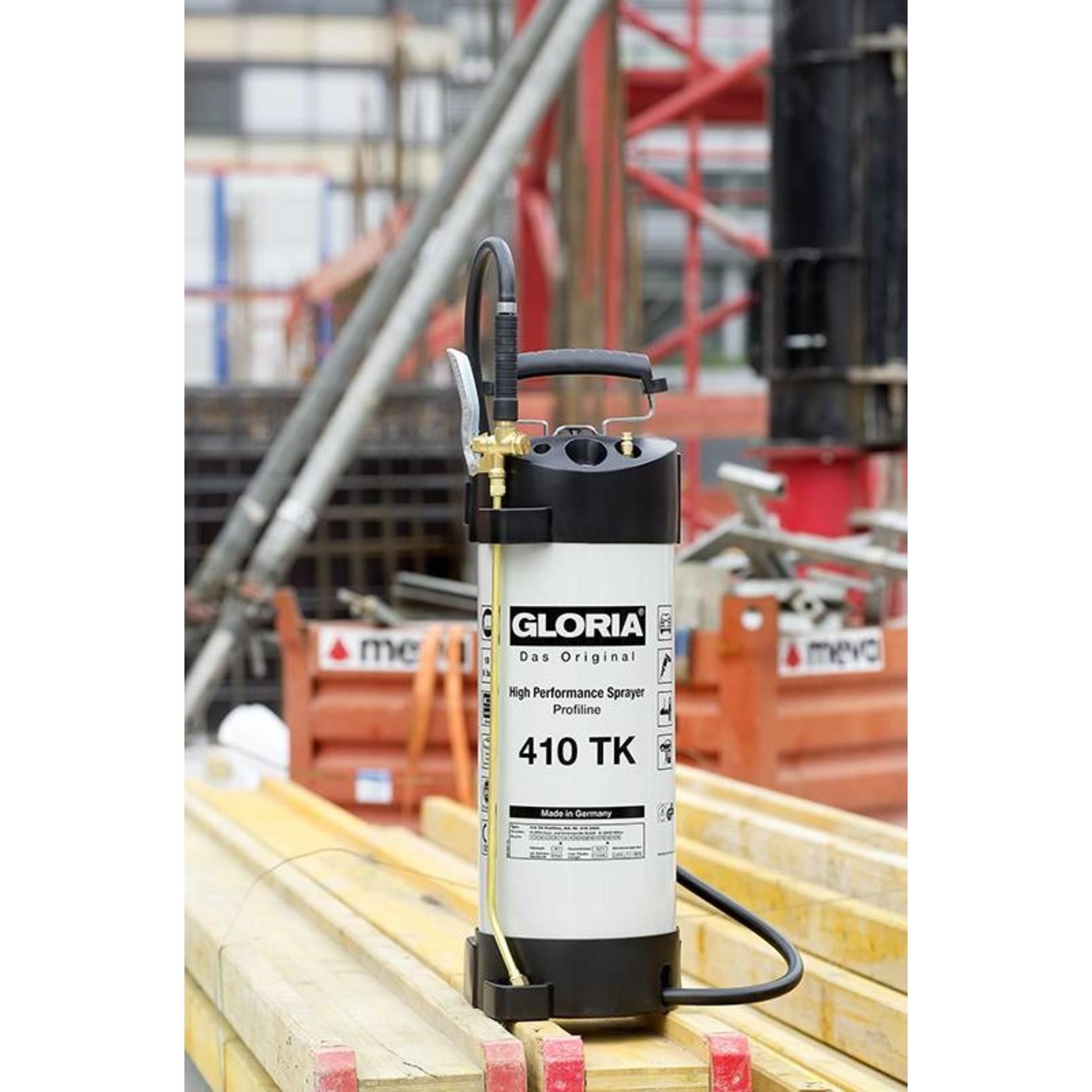 Gloria Industrie Hogedrukspuit Staal 410TK Profiline (10 liter) met Compressoraansluiting