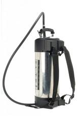 Gloria Industrie Hogedrukspuit RVS 510TK Profiline - 10 liter - met Compressoraansluiting