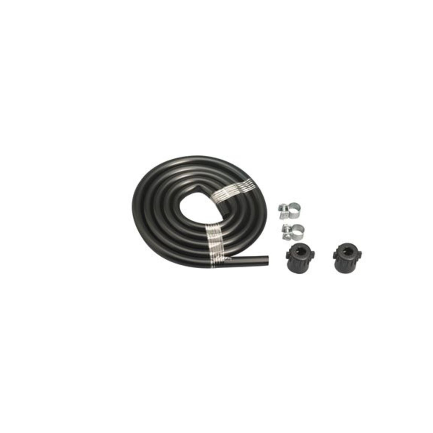 Gloria onderdelen slang 1.25 meter voor Prima 5 modellen incl. schroefdoppen & klemmen
