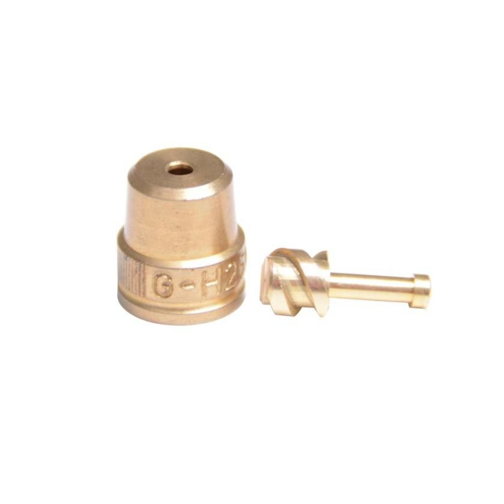 Gloria onderdelen Messing Sproeidop Ø 3 mm met wervellichaam