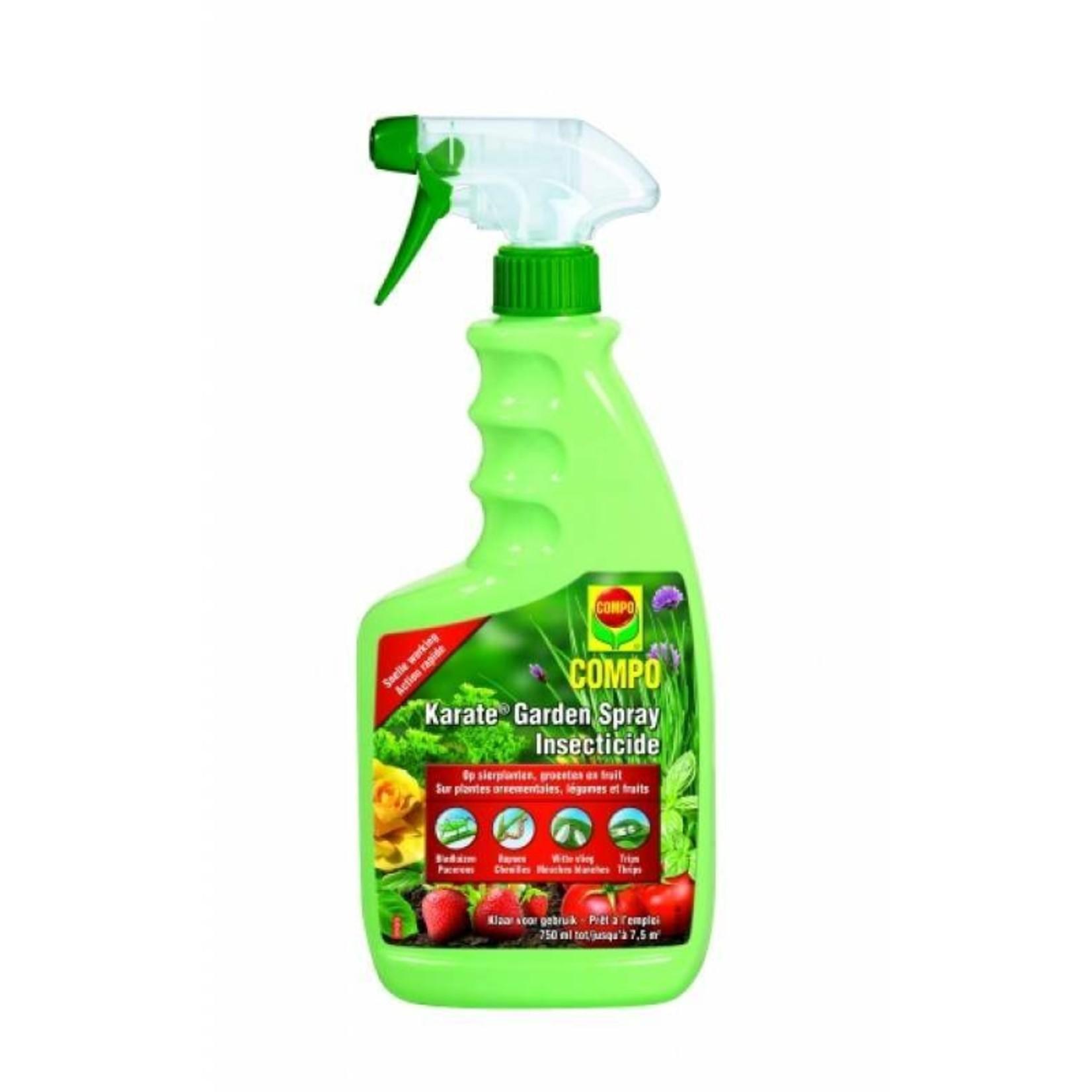 Compo Karate Garden Insectenbestrijder Spray 750 ml (gebruiksklaar)
