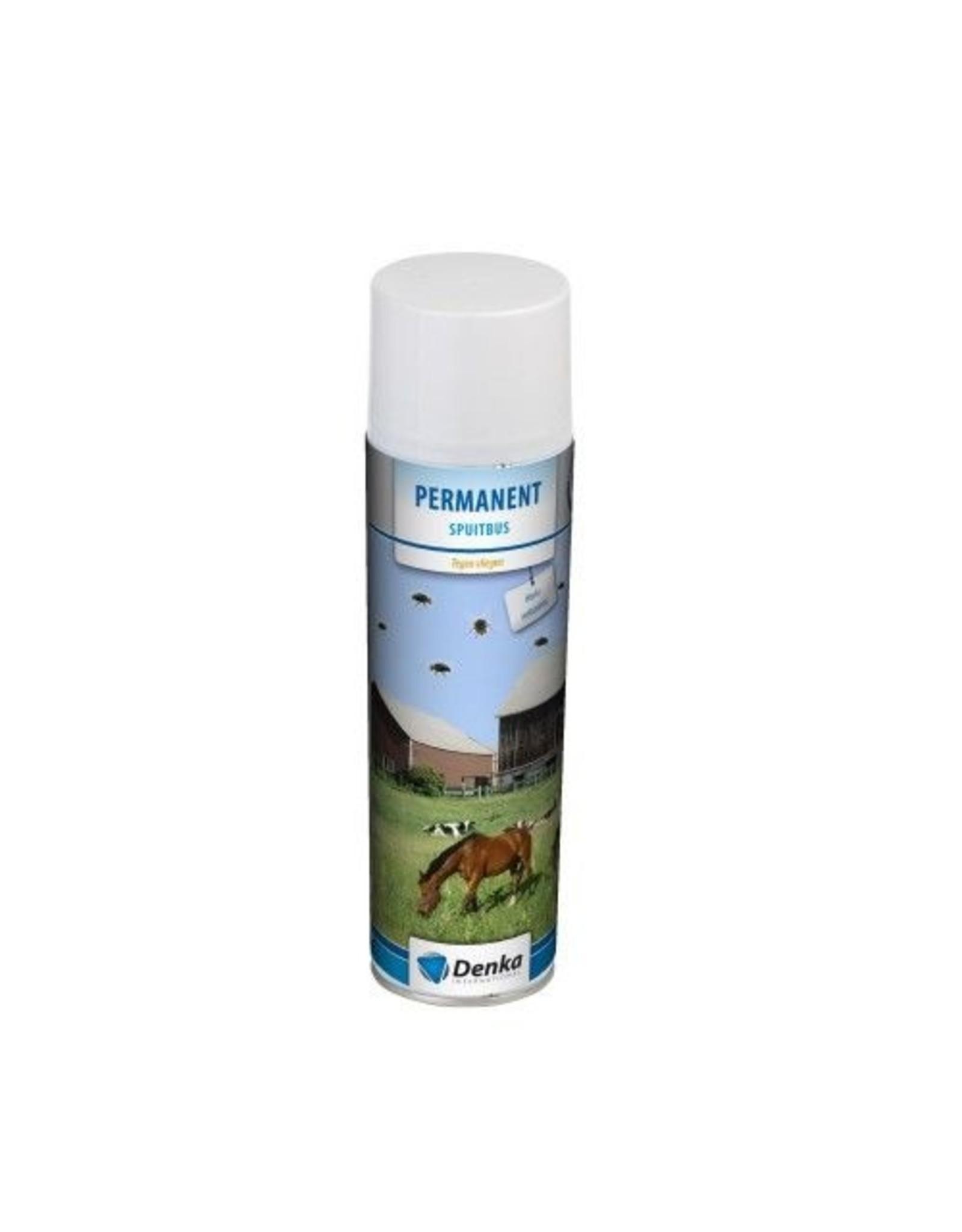 Denka Permanent spray 500 ml tegen vliegen
