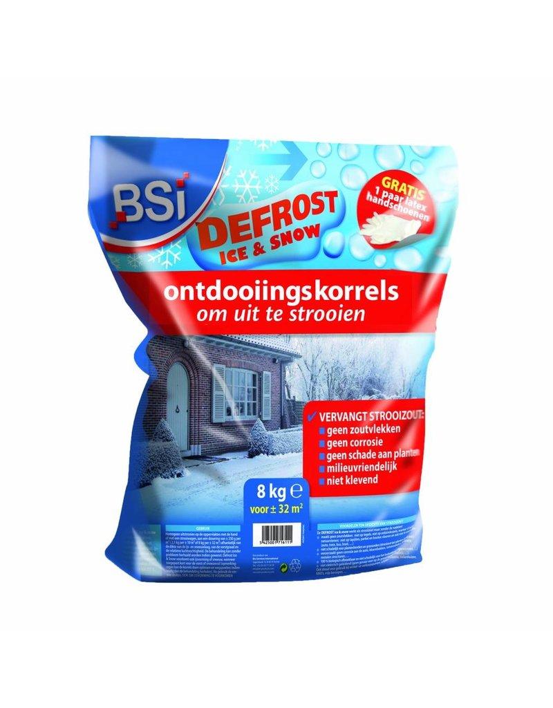 BSi Defrost Ice & Snow ontdooiingskorrels 8 kg (32 m²)