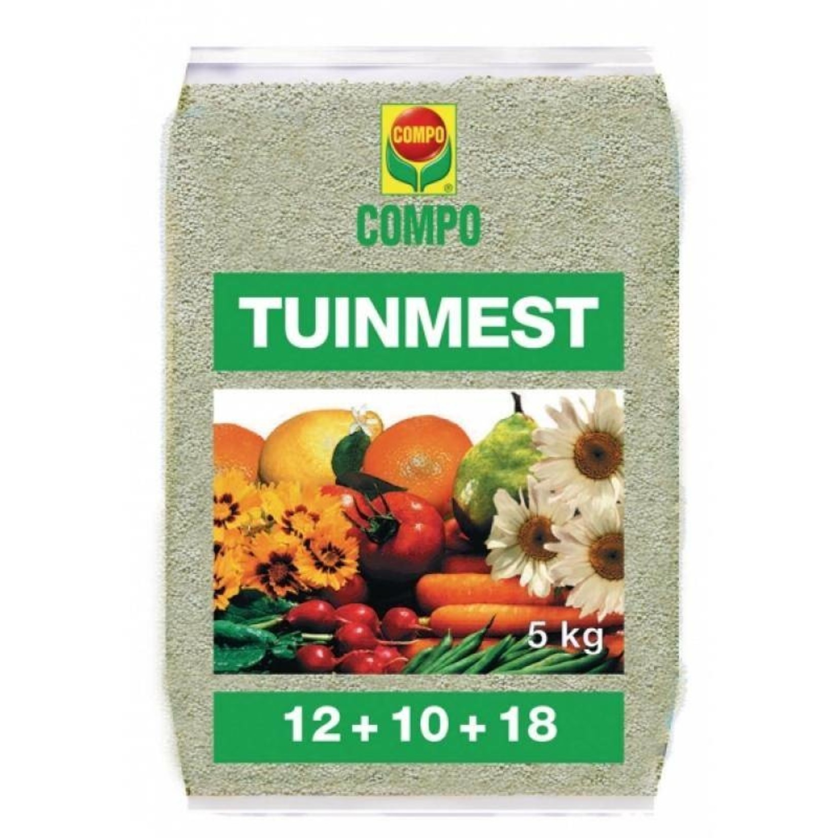 Compo Mengmeststof 12-10-18 NPK 5 kg Tuinmest