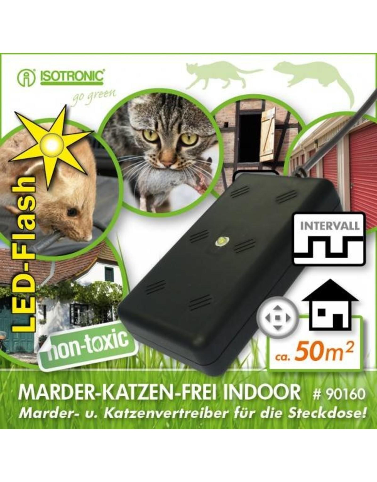 Isotronic Marter- en kattenverjager LED voor binnen