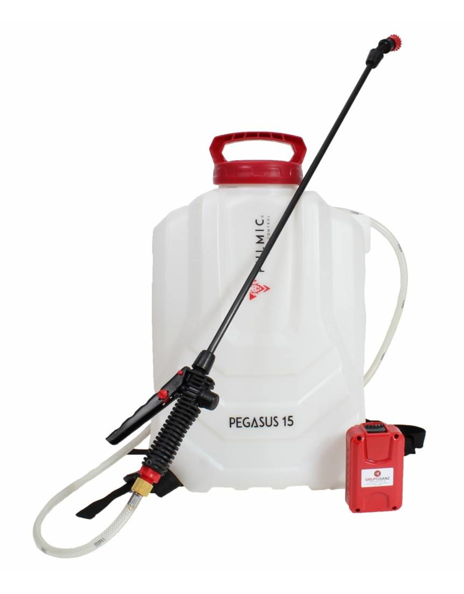 Pulmic Accu Rugspuit  Pegasus - 15 liter