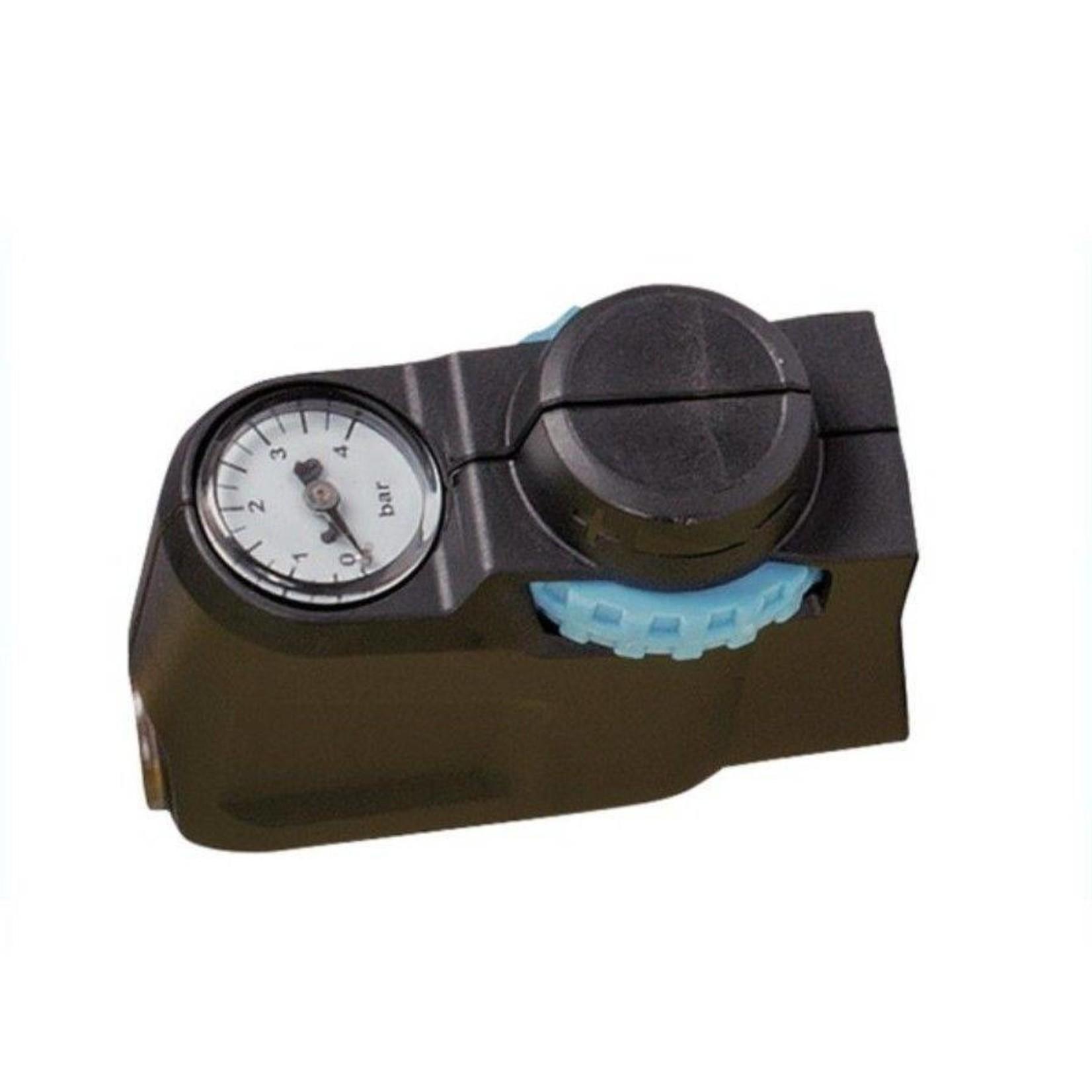 Gloria onderdelen Drukregelaar met manometer los voor op knijpkraan