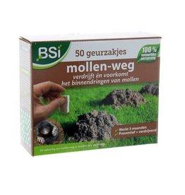BSi Mollen-Weg Geurzakjes 50 stuks