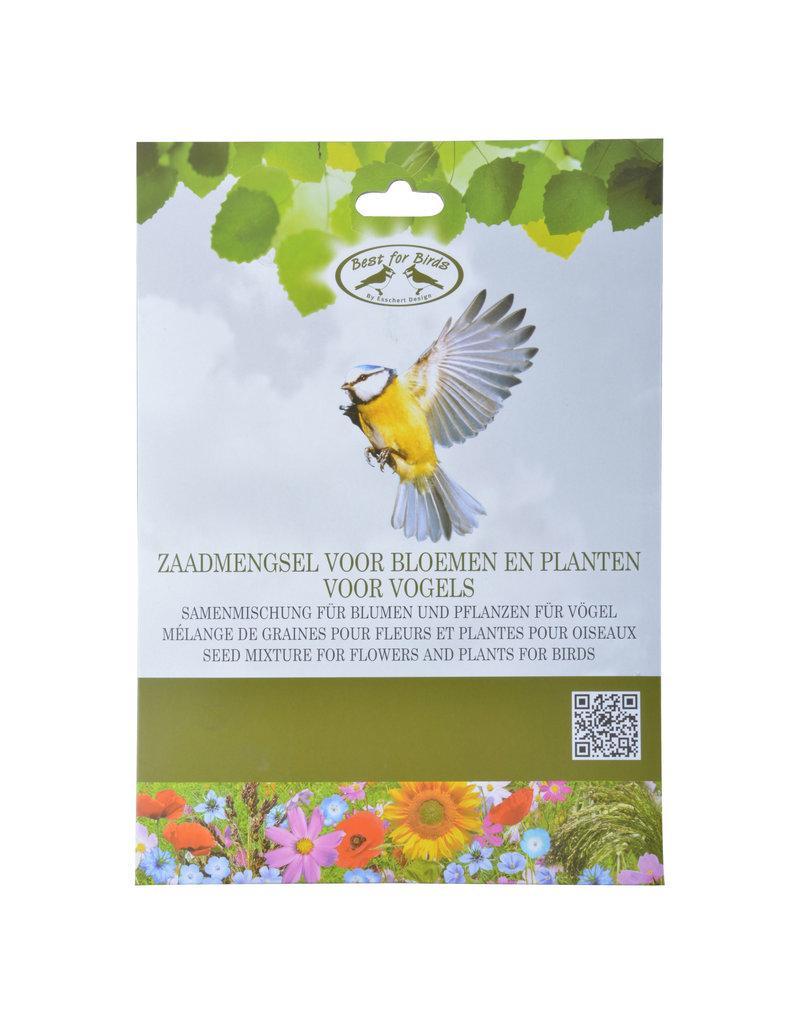 Esschert Bloemzaadmengsel voor vogelaantrekkende bloemen