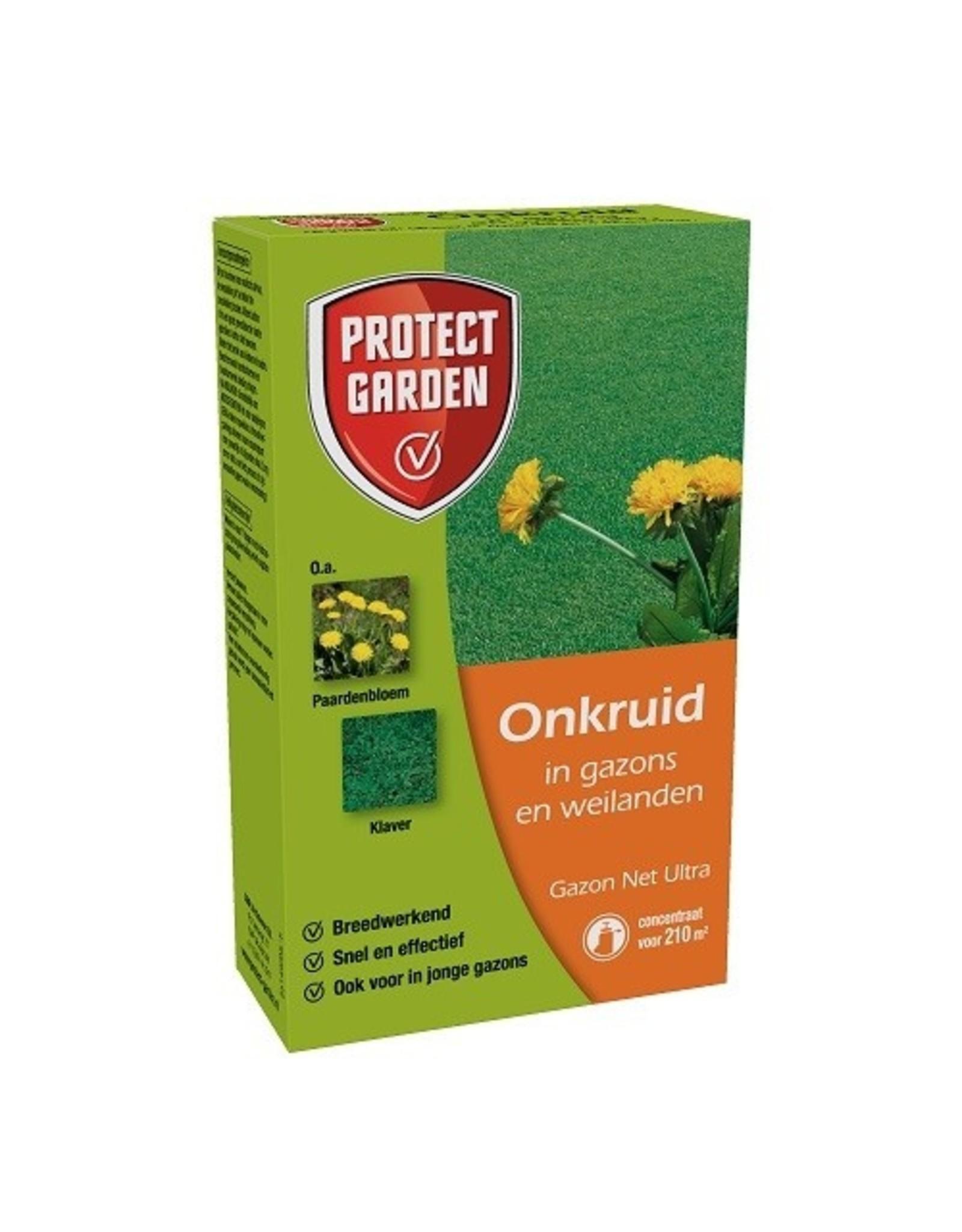 Protect Garden Gazon-Net Ultra 40 ml tegen onkruiden in het gazon