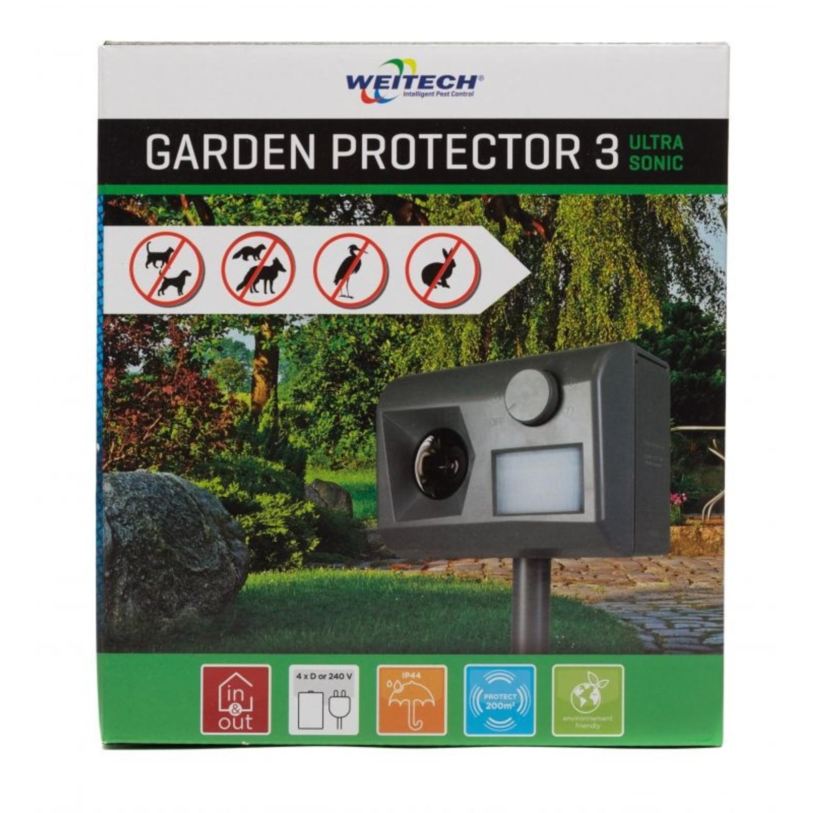Weitech Garden Protector W0055 Ultrasone ongedierte verjager