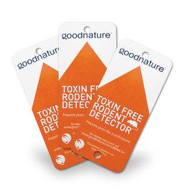 Goodnature®  Knaagdier detectiekaarten met lokstof (25 stuks)