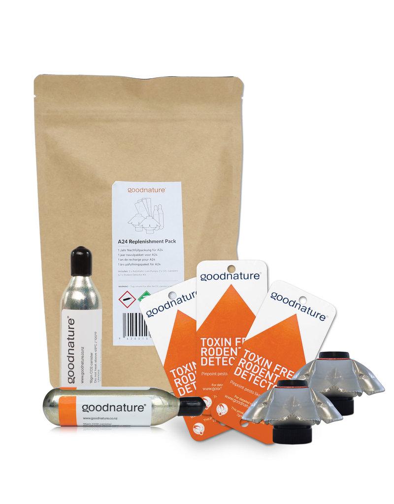 Goodnature®  1 jaar navulpakket voor automatische Ratten- & Muizenval A24
