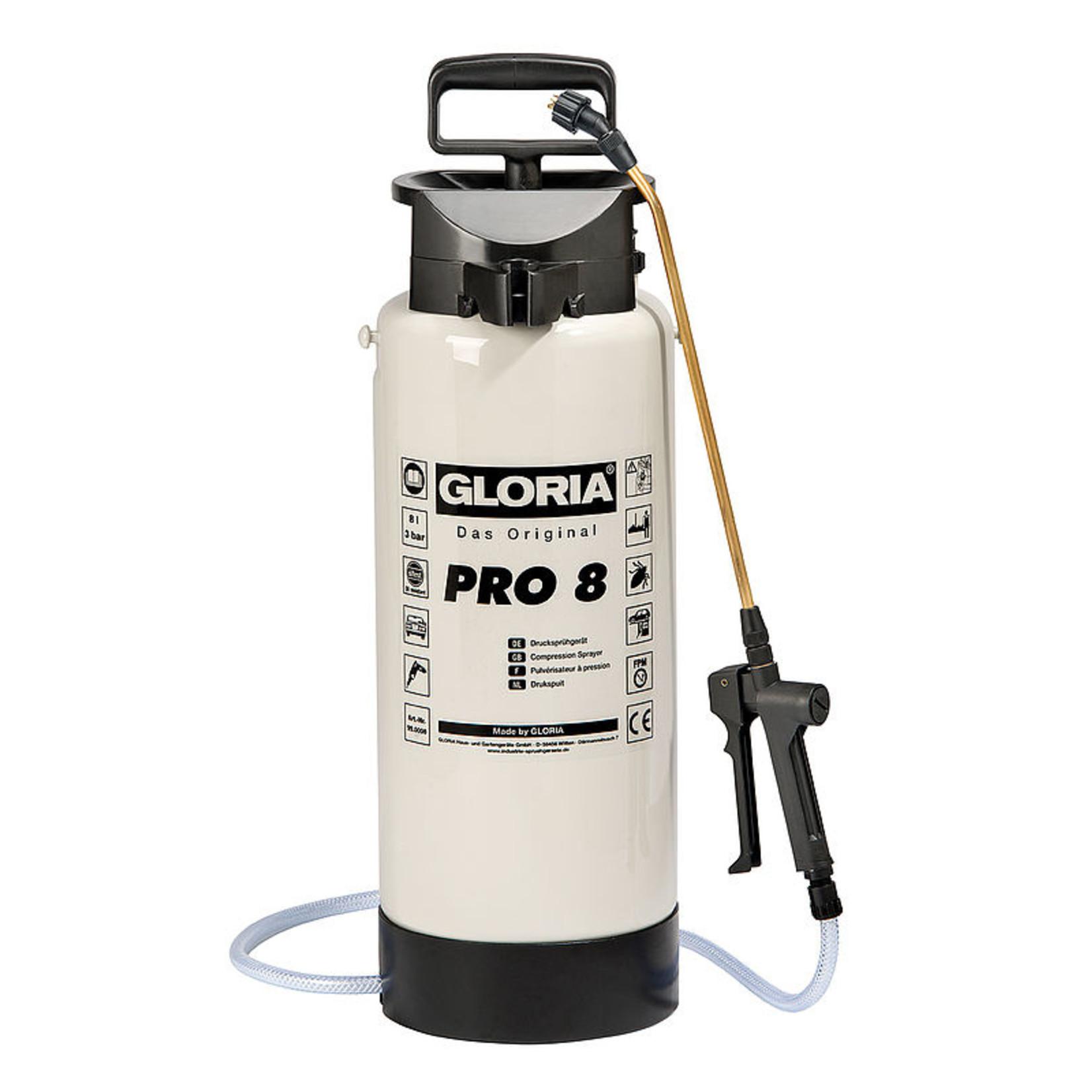 Gloria Industrie Pro 8 Drukspuit (8 liter)