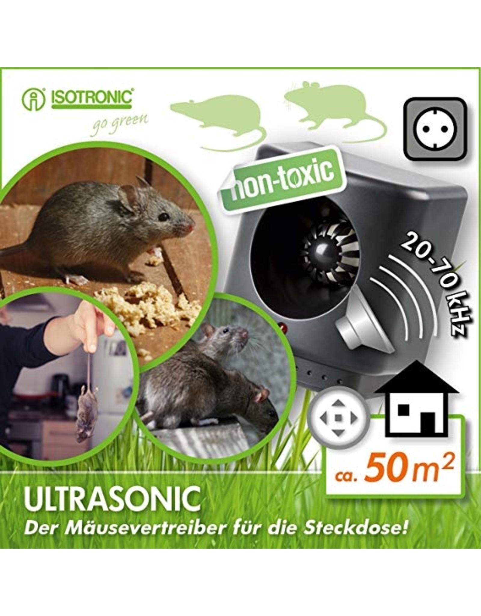 Isotronic Ratten- en muizenverjager Ultrasonic XL200