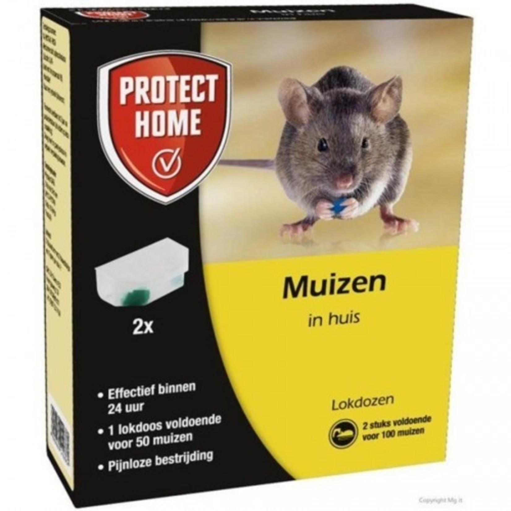 Protect Home Muizenlokdoos Express 2 stuks