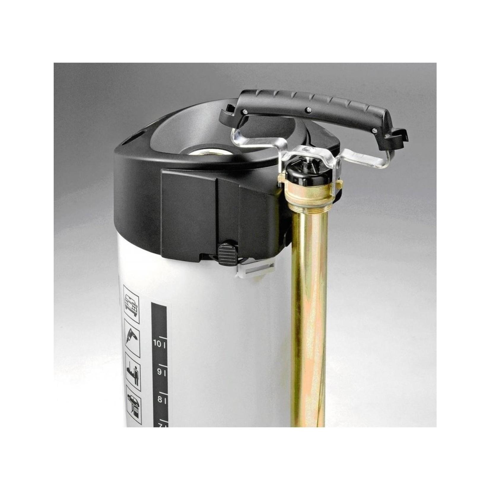 Gloria Industrie Hogedrukspuit Staal 405TK Profiline (5 liter) met Compressoraansluiting
