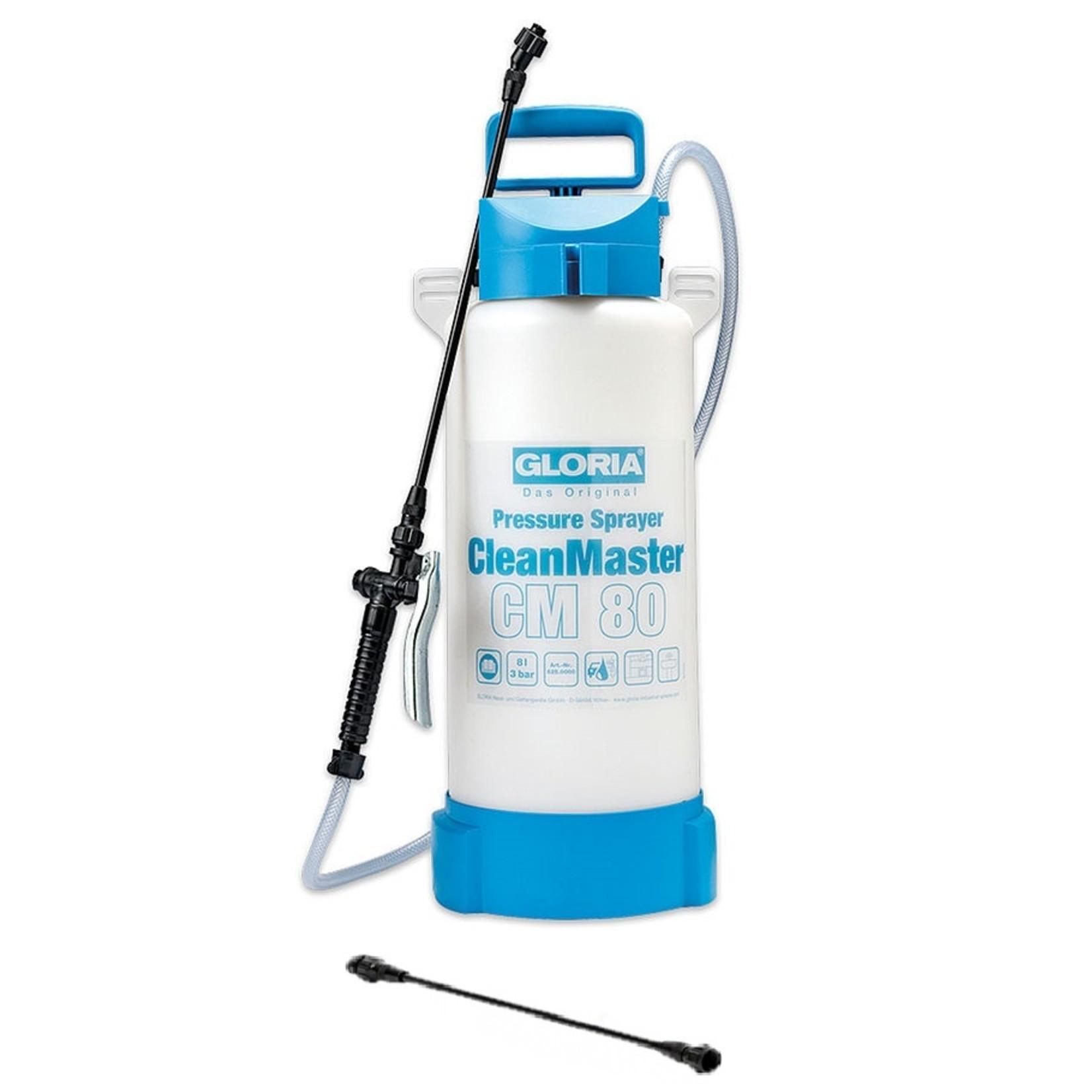 Gloria Reiniging Clean Master CM80 Zuurbestendige Drukspuit - 8 liter