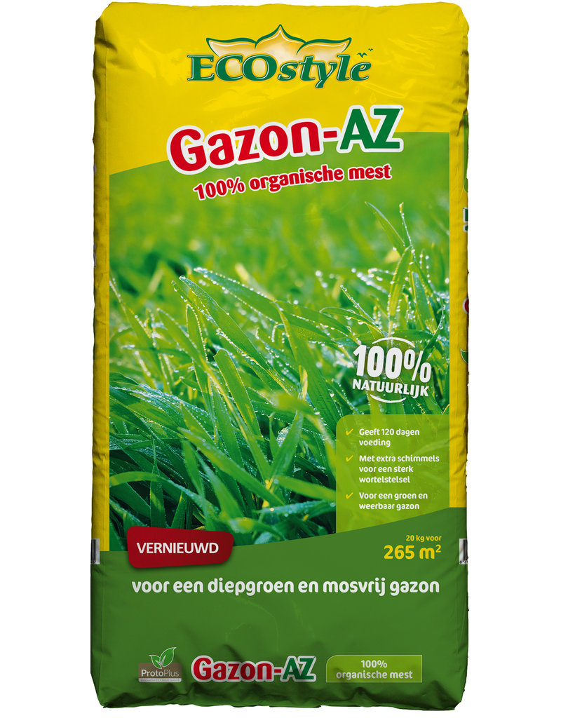Ecostyle Gazon AZ 20 kg (265 m²) met ProtoPlus