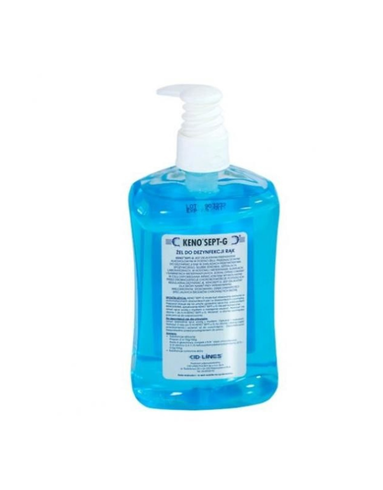 Kenosept-G gel+alcohol 500 ml