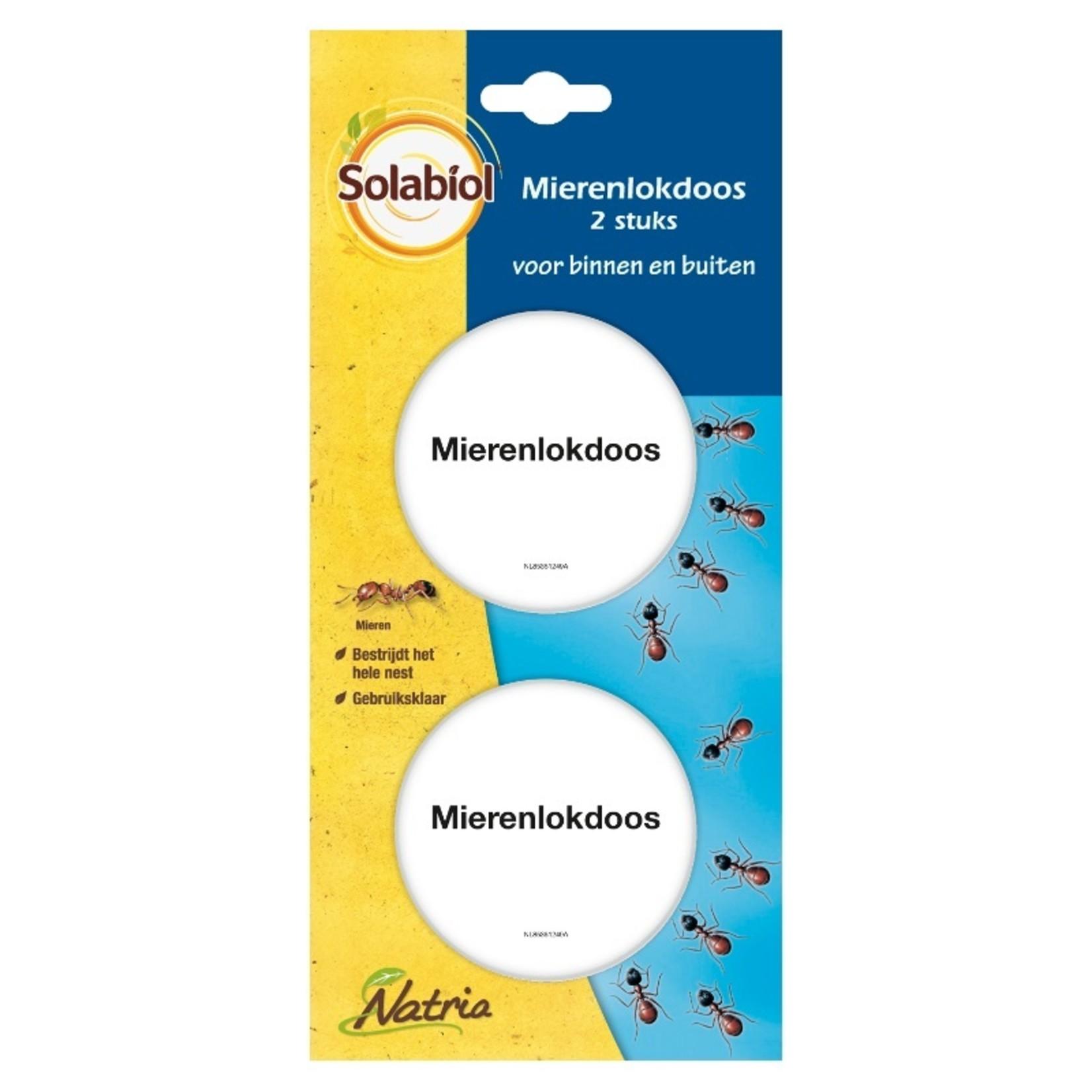 Solabiol Natria Mierenlokdoos 2 stuks