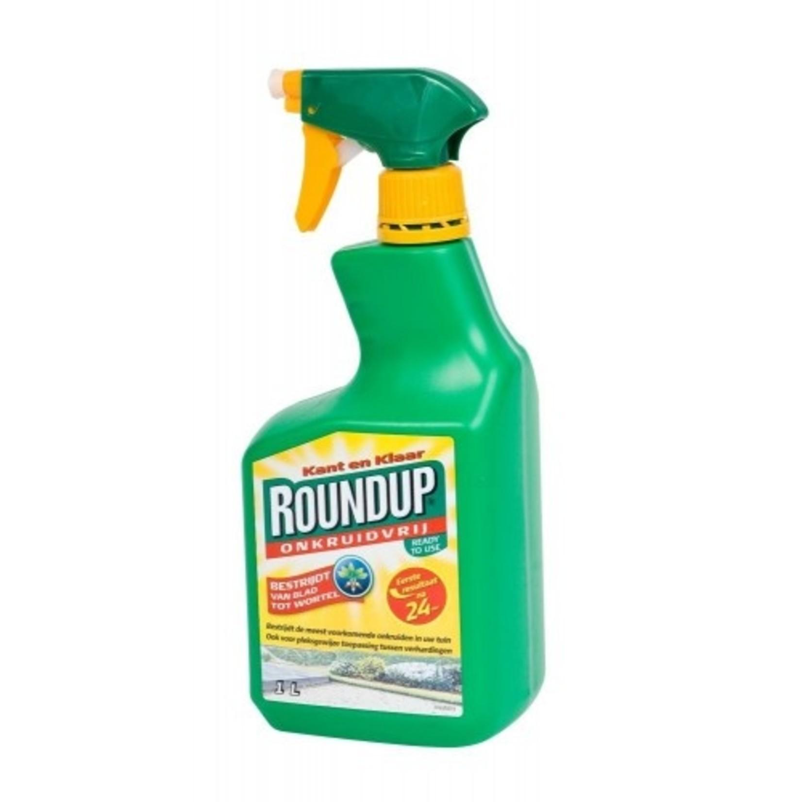 Round-up kant en klaar 1000 ml (spray) tegen onkruid