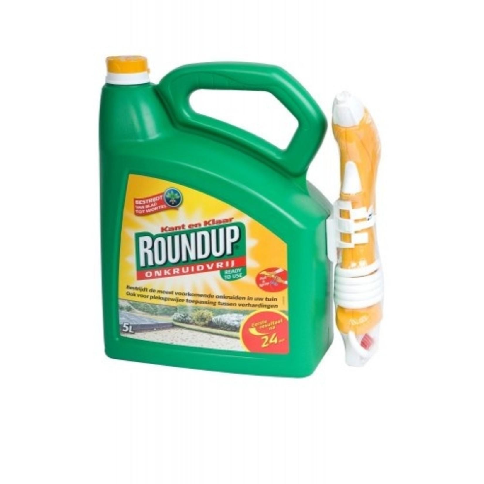 Round-up Trek & Spuit 5000 ml (spray) tegen onkruid