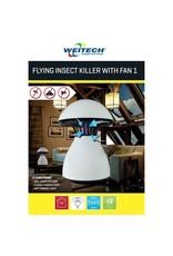 Weitech Vliegende insectenlamp met ventilator WK0120