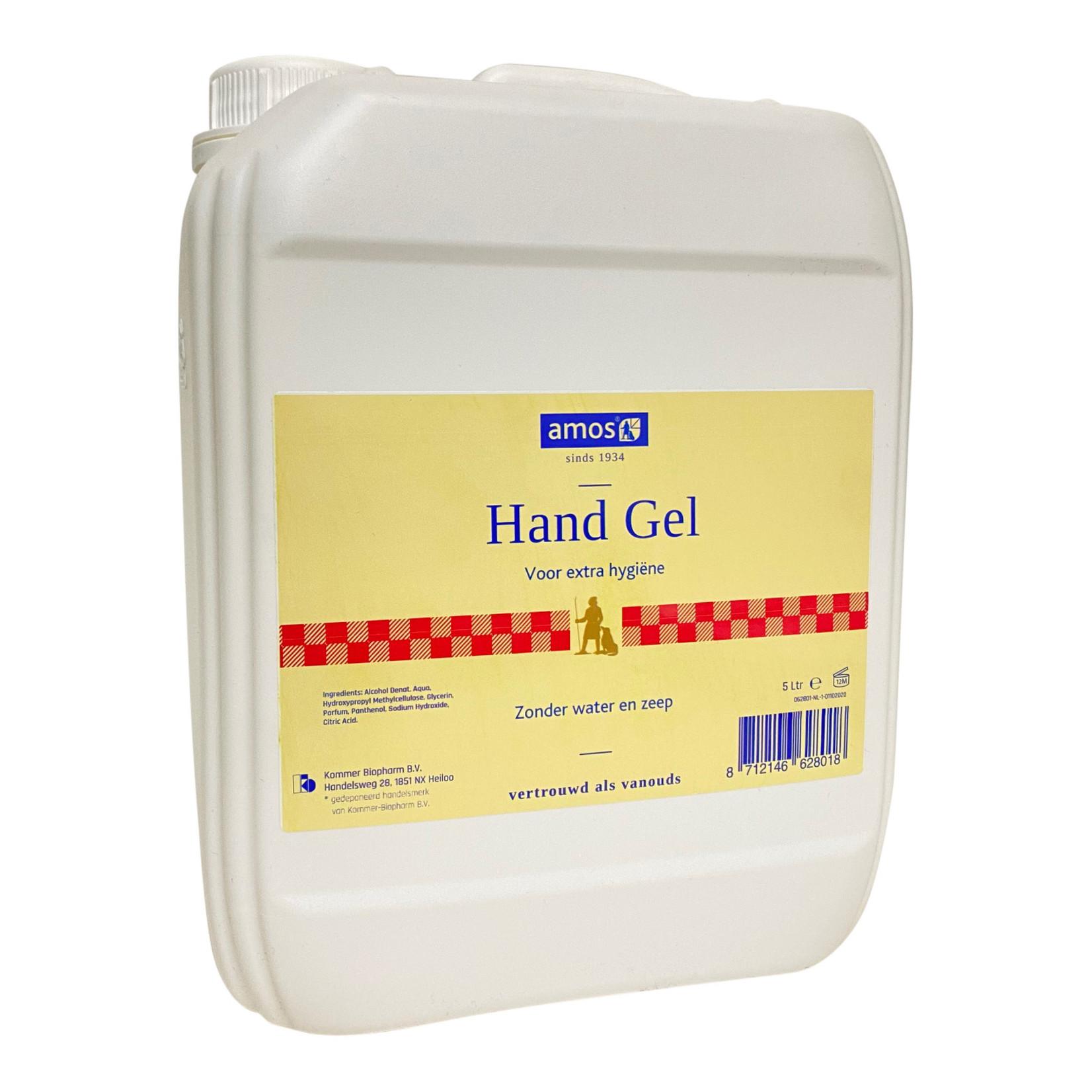 Amos handgel 5 liter voor extra hygiëne