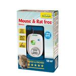 Ecostyle Mouse & Rat free ultrasoon op batterijen (tot 50 m²)