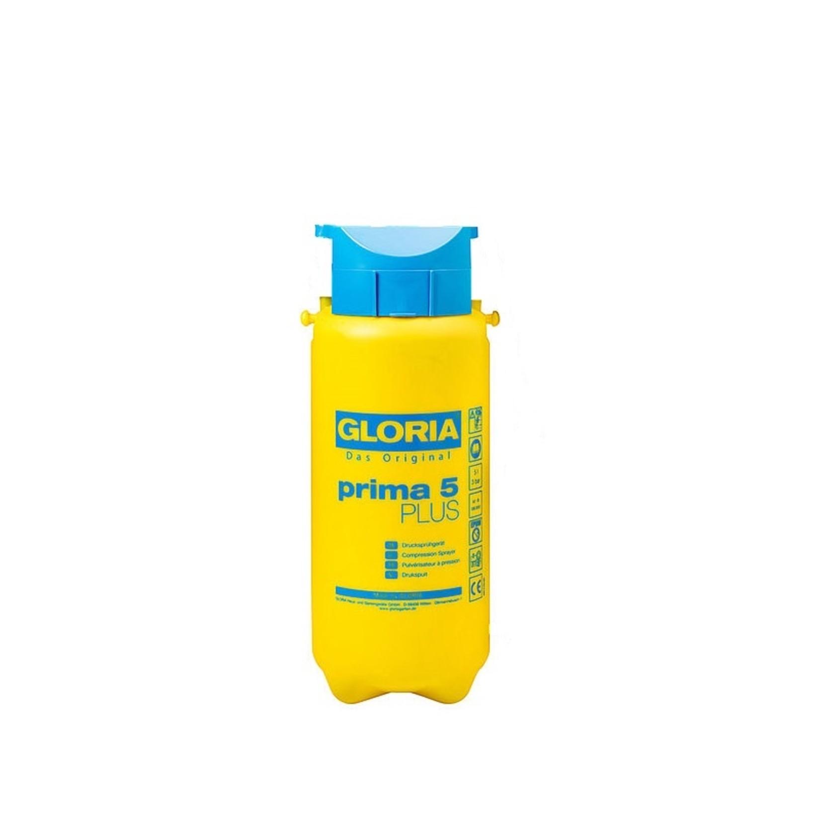 Gloria onderdelen losse gele tank voor Prima 5 modellen incl. vultrechter