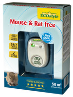 Ecostyle Mouse & Rat free ultrasone verjager (tot 50 m²)