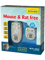 Ecostyle Mouse & Rat free 80+30 m² (duopack) ultrasone verjagers