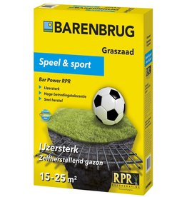 Barenbrug Speel en Sport graszaad 500 gram (15-25 m²)