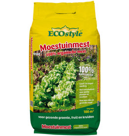 Ecostyle Moestuinmest 8 kg (100 m²)