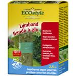 Ecostyle Lijm- / boomband 2,5 meter tegen kruipend ongedierte
