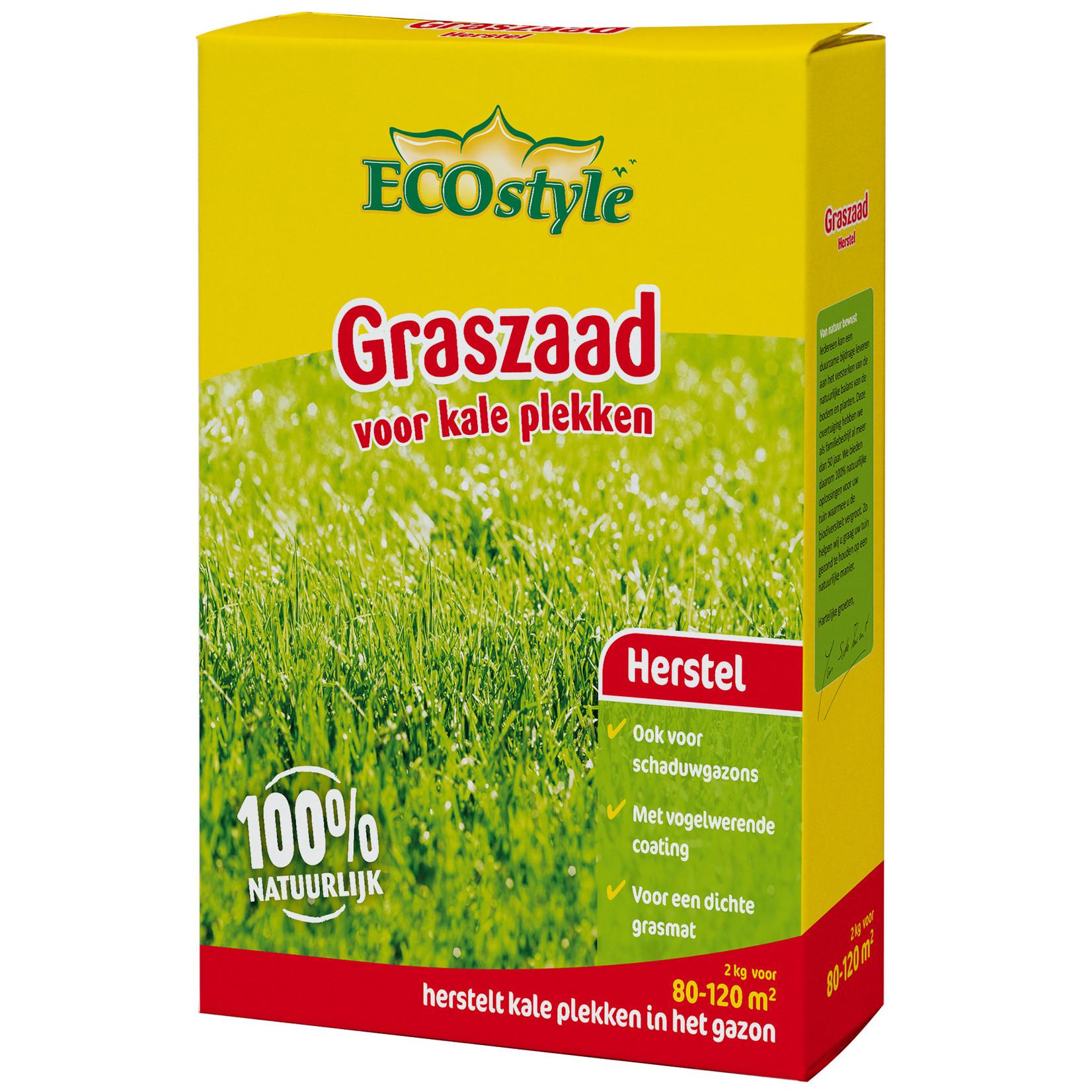 Ecostyle Graszaad-Herstel 2 kg (80-120 m²) voor kale plekken
