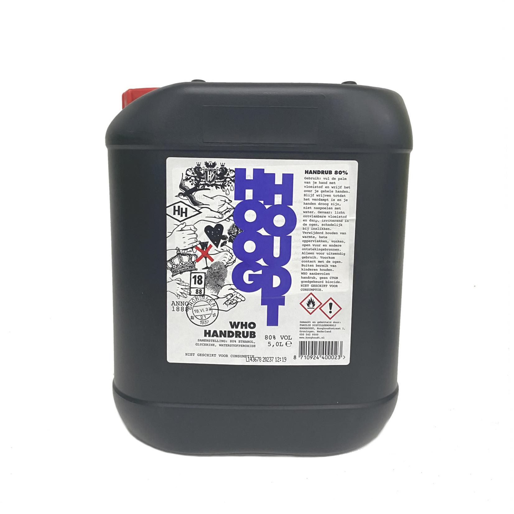 Hooghoudt Handrub desinfectiemiddel voor handen 5 liter