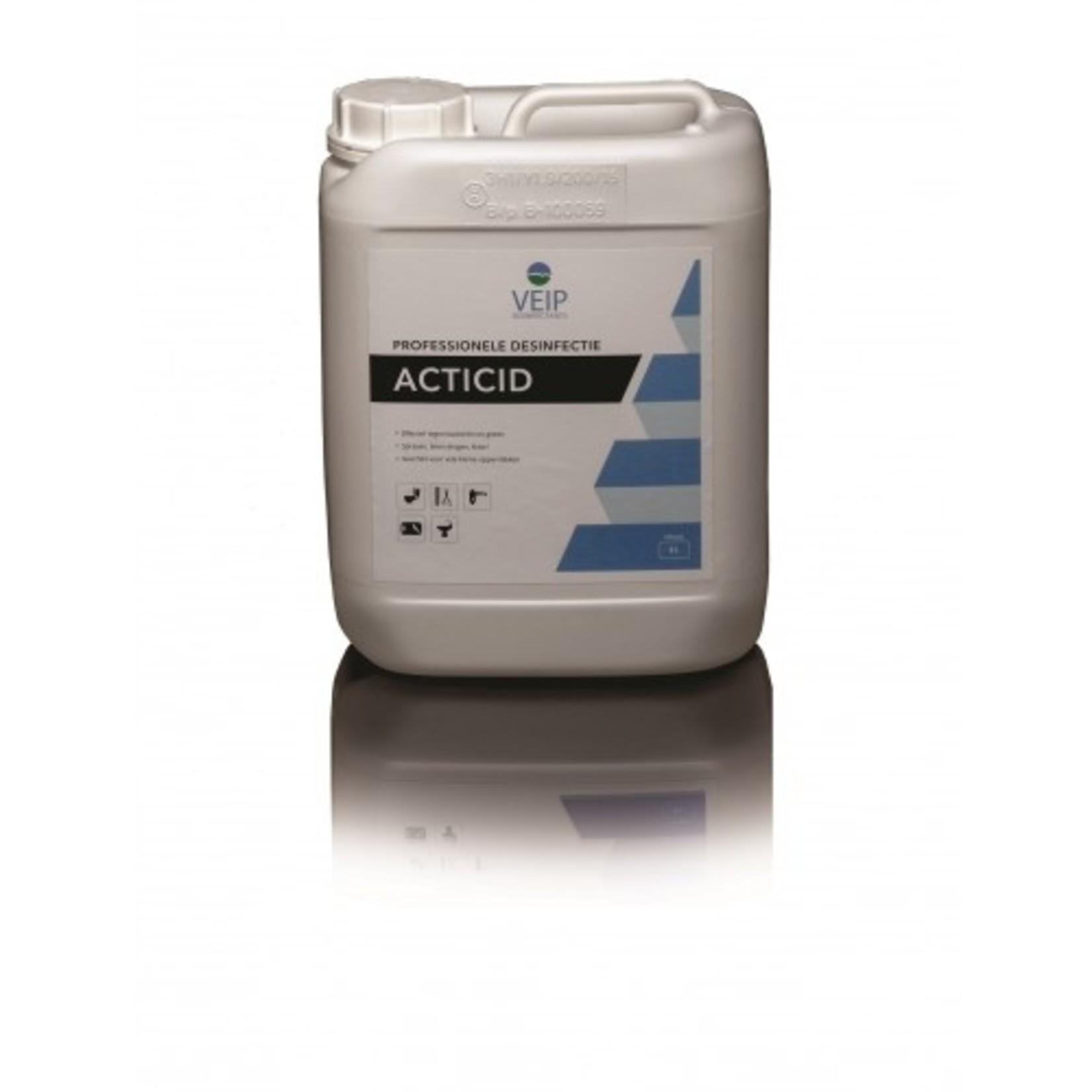 Veip Disinfectants desinfectiemiddel 76% alcohol (ethanol) 5 liter voor oppervlakken