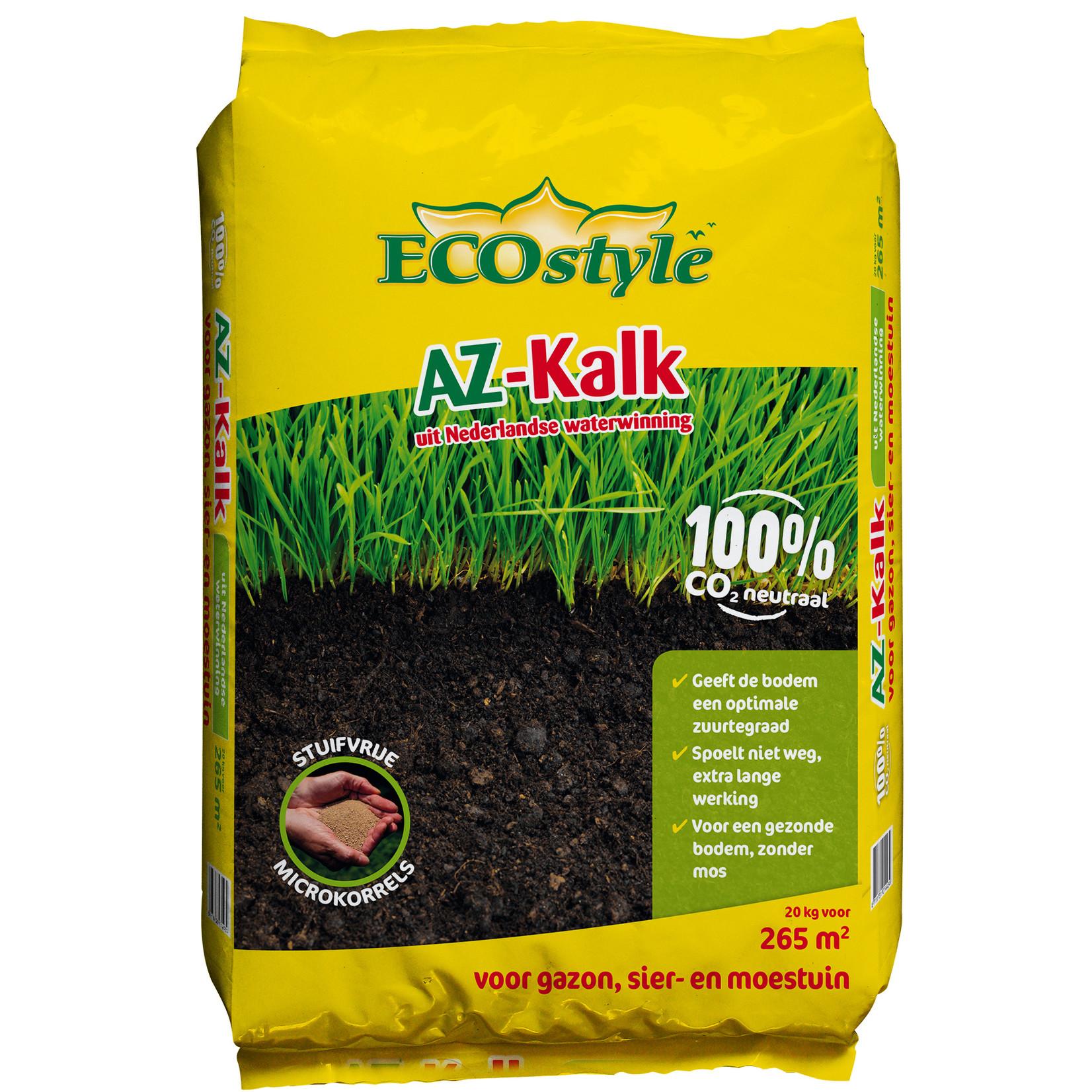 Ecostyle AZ 4-seizoenenkalk 20 kg (265 m²)