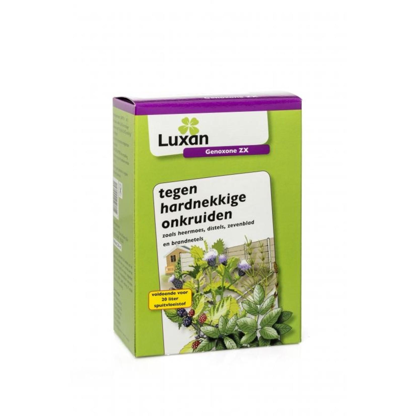 Luxan Genoxone ZX 250 ml (concentraat) tegen hardnekkige  onkruiden