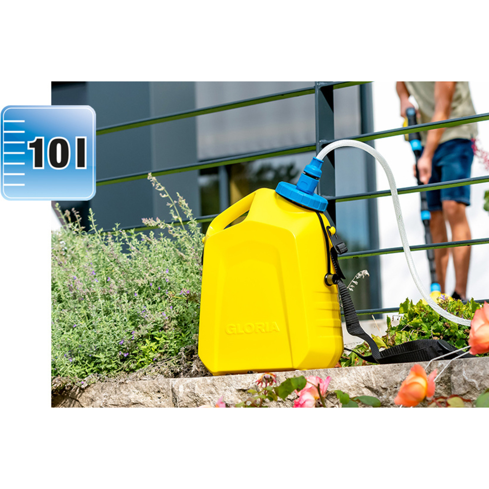 Gloria MultiJet Universele vloeistof container (10 liter)