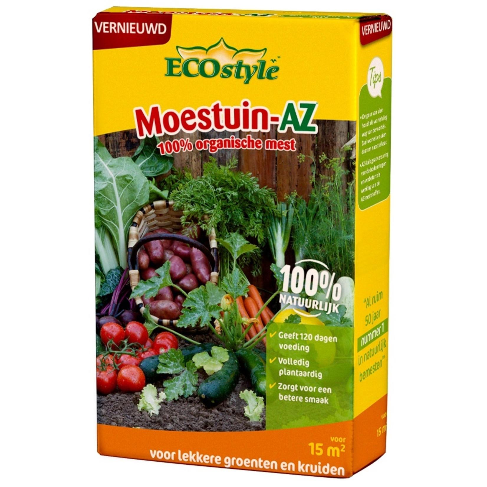 Ecostyle Moestuinmest-AZ  800 gram (15 m²)